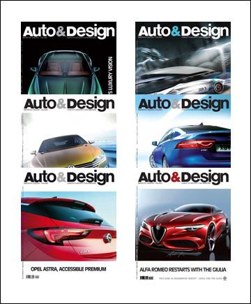 AutoDesign Magazine - Abbonamento n. 251-256